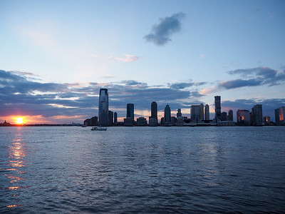 Sunset from Battery Park in NYC