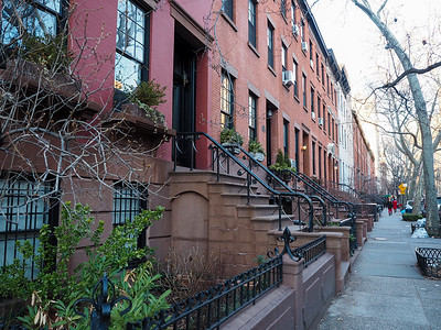 Brownstones in Brooklyn Heights