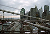 Manhattan (view from Brooklyn Bridge), New York, U.S.A.