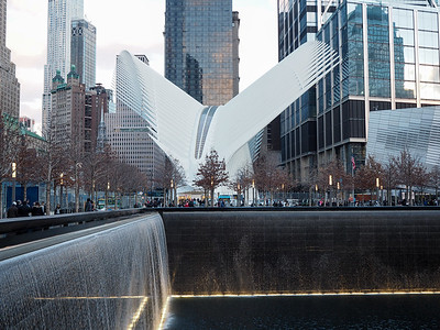 The Oculus at the 9/11 Memorial in NYC