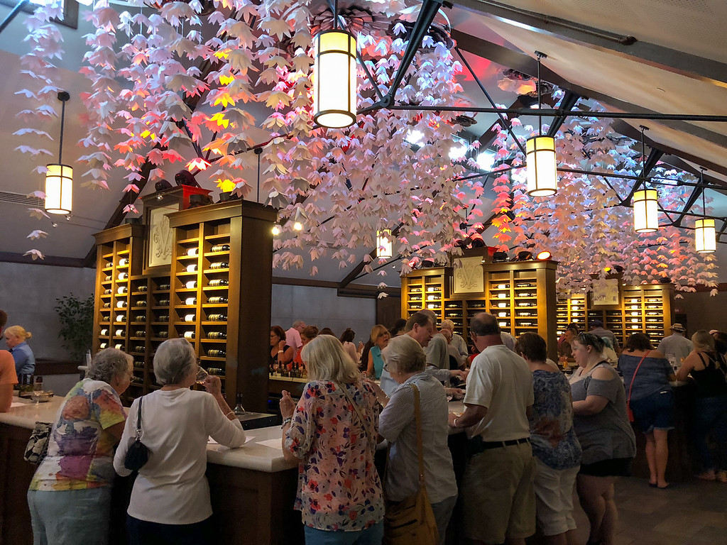 Biltmore Winery tasting room