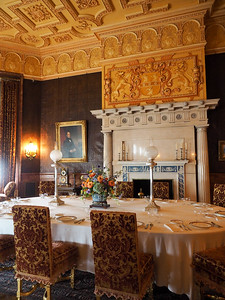 Breakfast room in the Biltmore