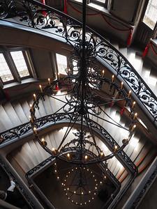 Original chandelier in the Biltmore house