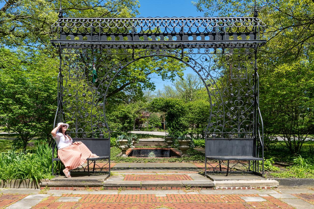 Cleveland Cultural Gardens Hungarian Garden