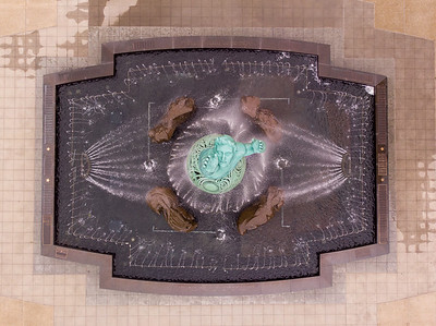 Fountain of Eternal Life from above