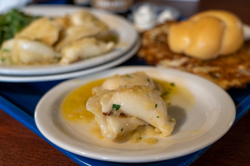 Pierogis at Sokolowski's University Inn