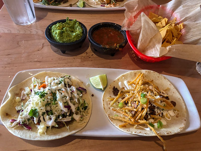 Tacos at Zocalo Tequileria