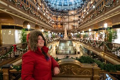 Cleveland Arcade at Christmas