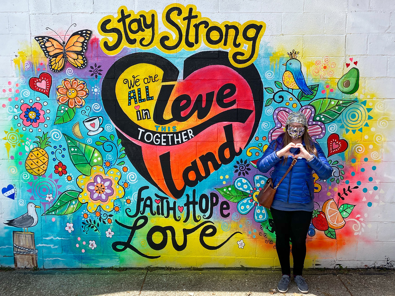 Stay Strong Cleveland mural