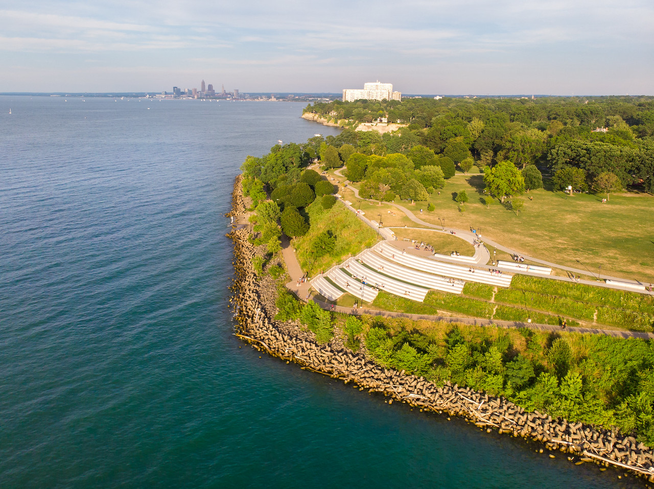 Lakewood Park from above