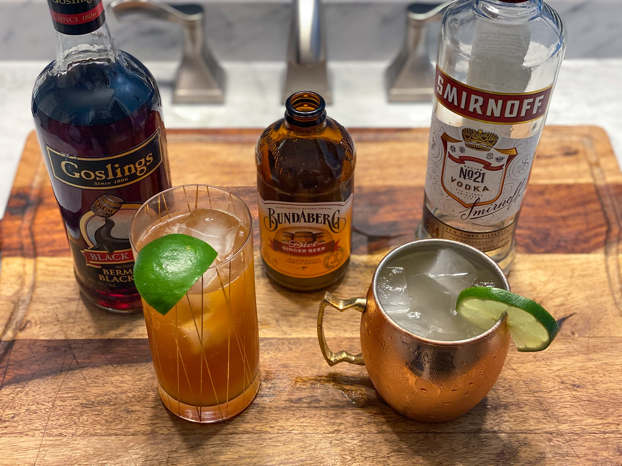 Dark n Stormy and Aussie Mule