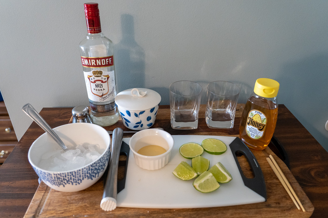 Dawa cocktail ingredients