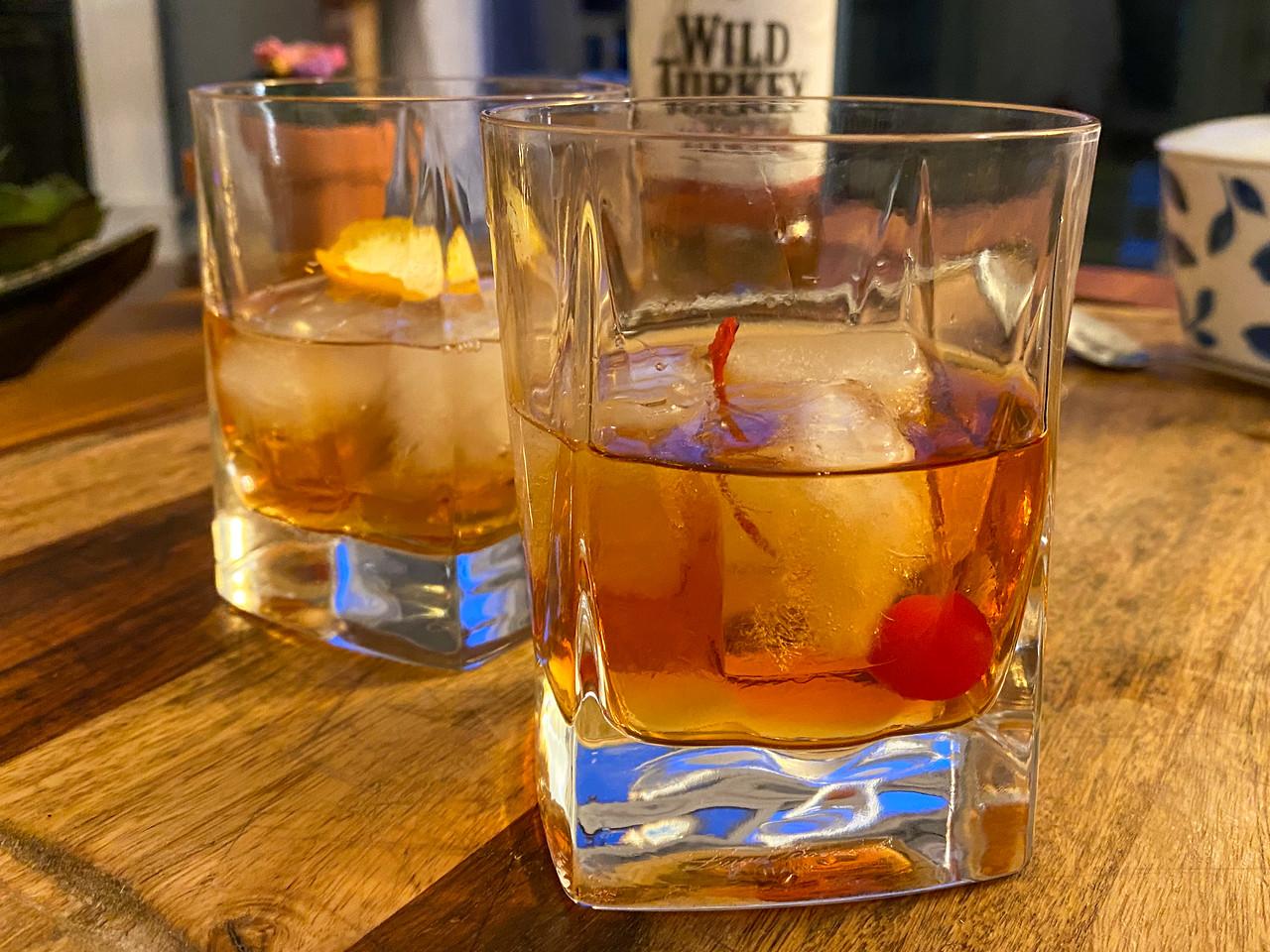 Cocktails à l'ancienne