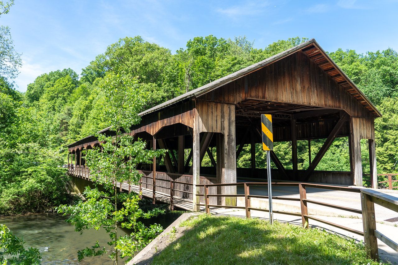 Mohican State Park covered bridge