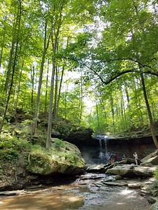 Blue Hen Falls in Cuyahoga Valley National Park