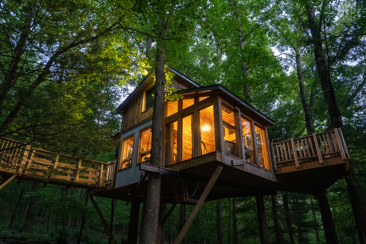 The View treehouse at The Mohicans
