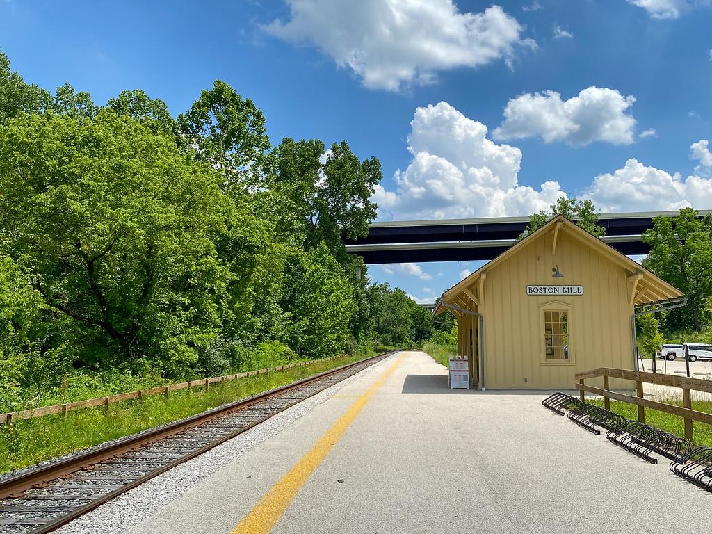 Boston Mill Station in CVNP
