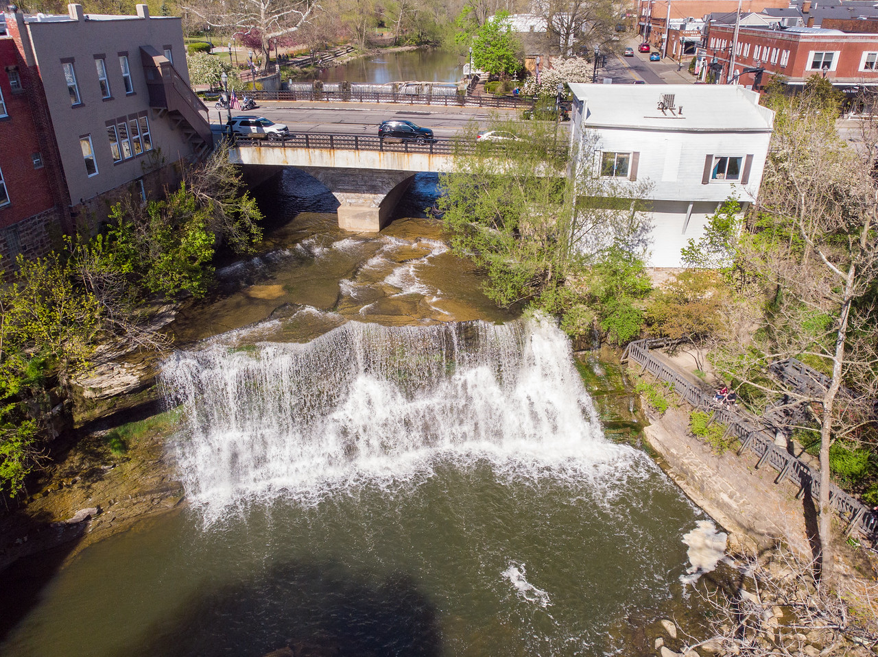 Chagrin Falls in Ohio