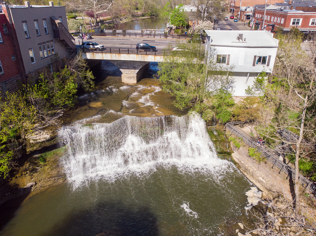 Chagrin Falls waterfall