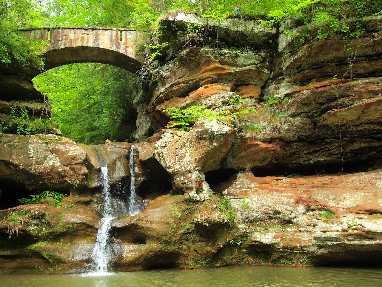 Upper Falls in Hocking Hills State Park