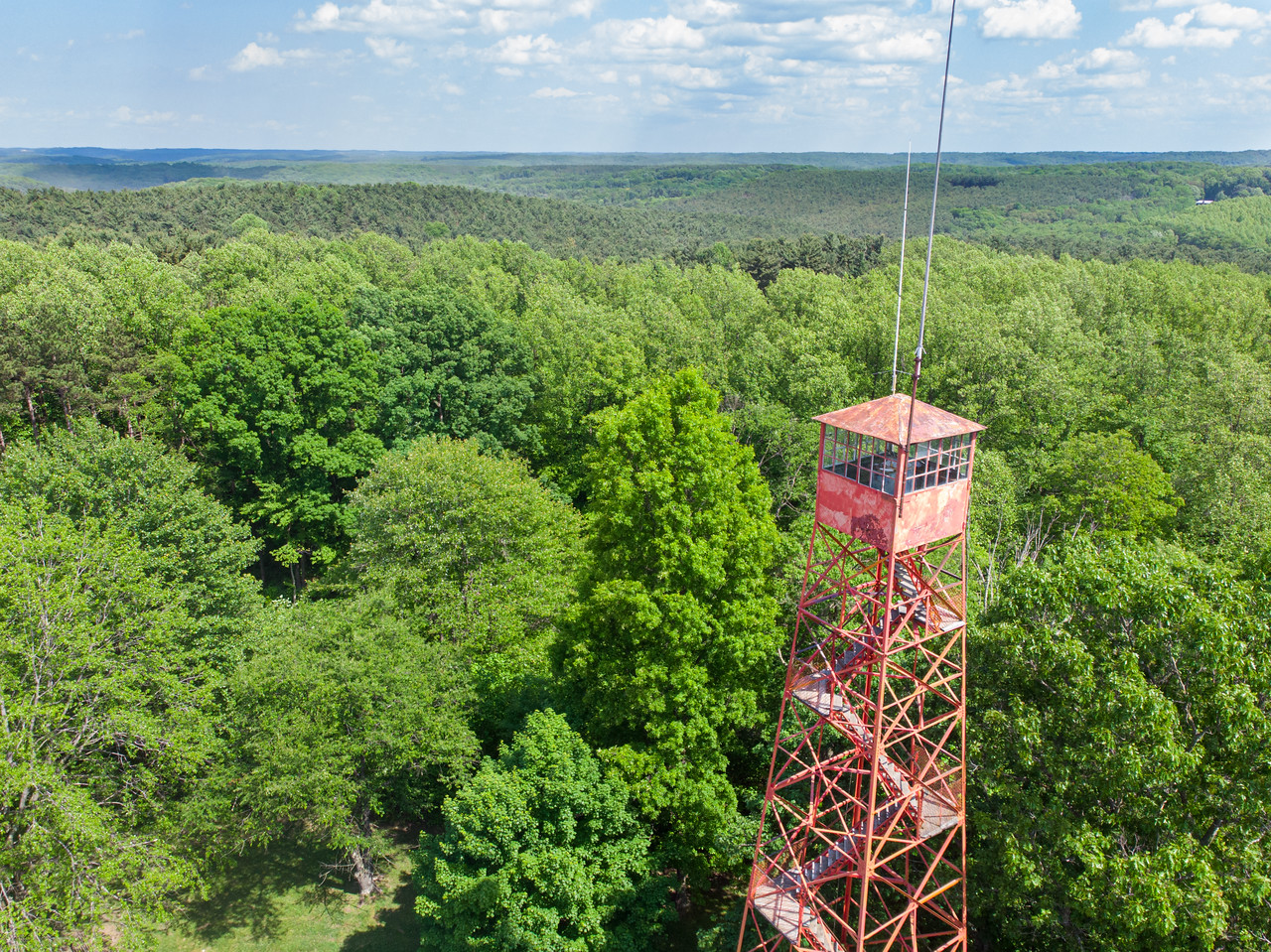 Mohican State Park fire tower