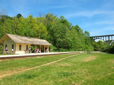 Brecksville Station in Cuyahoga Valley National Park