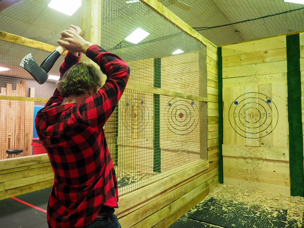 Axe throwing in Columbus