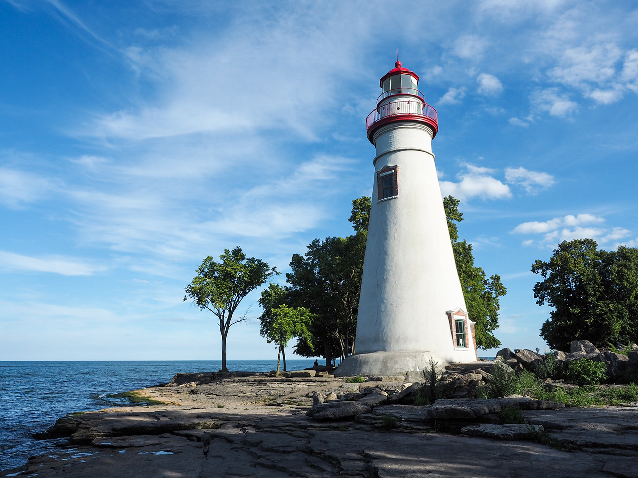 Marblehead Lighthouse on Lake Erie
