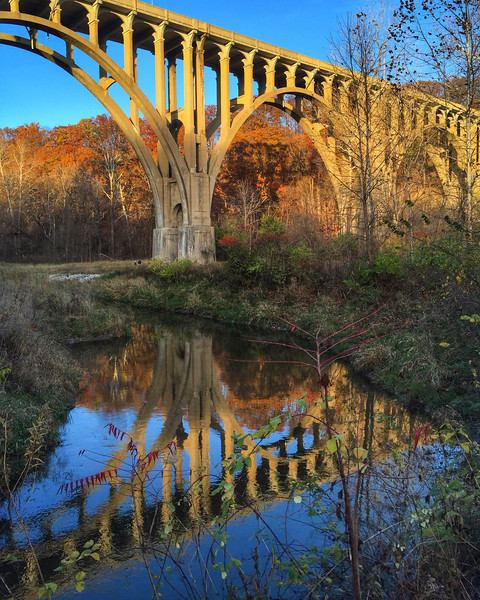 Bridge in Cuyahoga Valley National Park