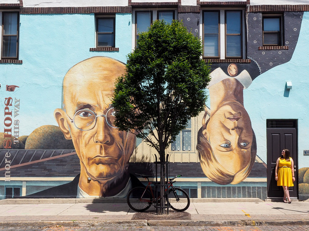 Mural in Short North Arts District, Columbus