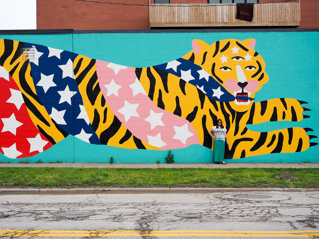 Mural in Ohio City