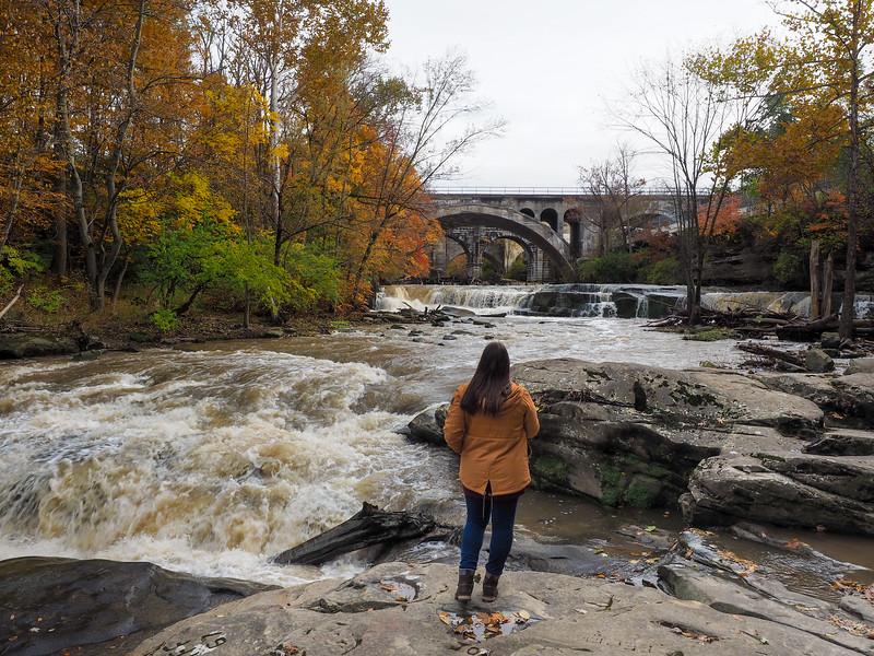 Amanda at Berea Falls