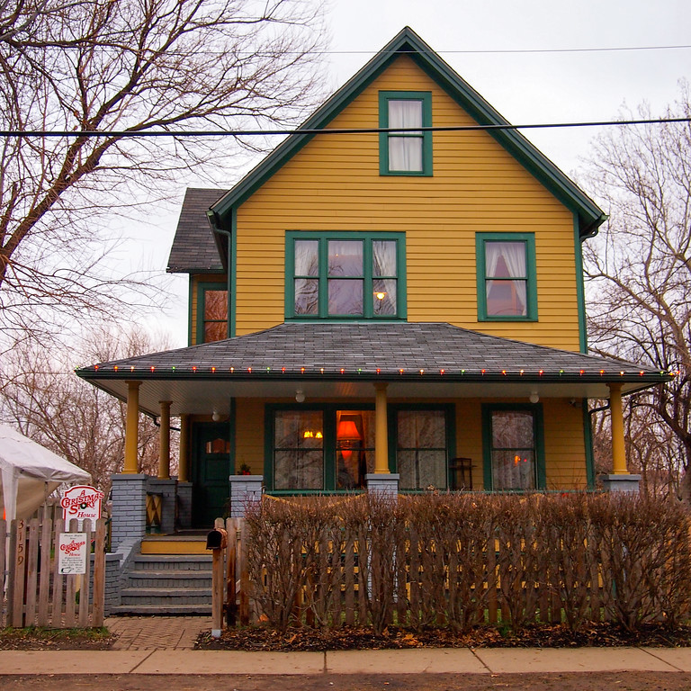 A Christmas Story house in Tremont