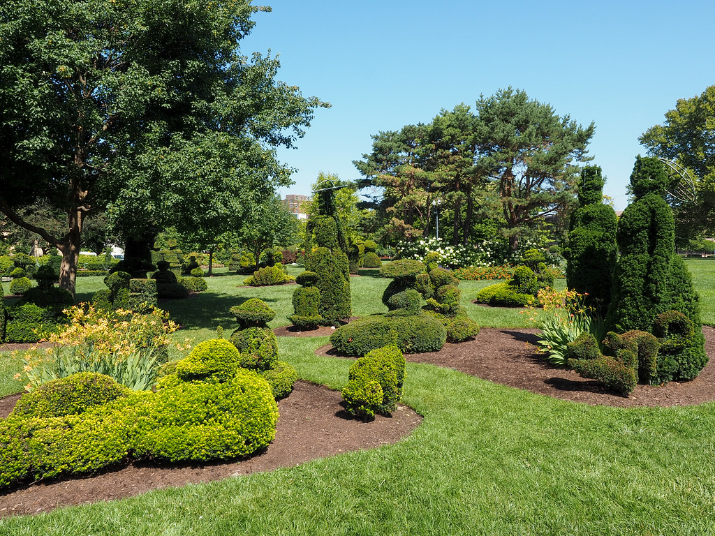 Topiary Park in Columbus