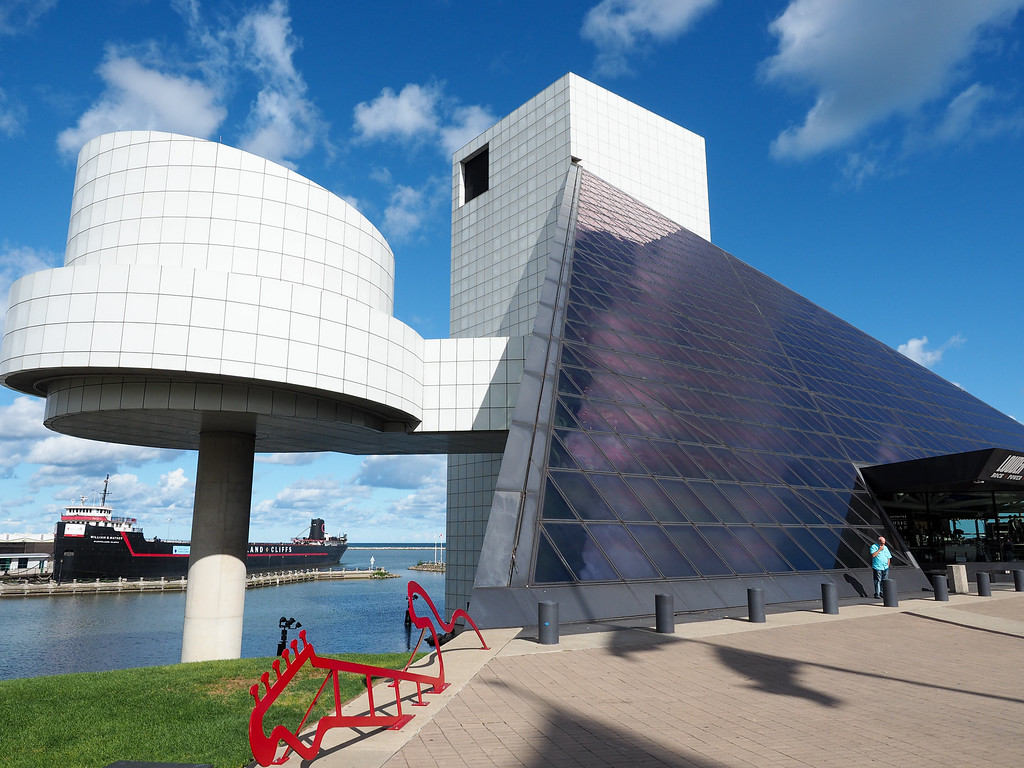Rock and Roll Hall of Fame in Cleveland