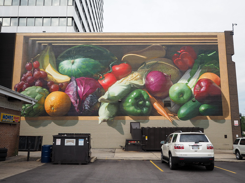 Fresh Harvest mural in Cincinnati, Ohio