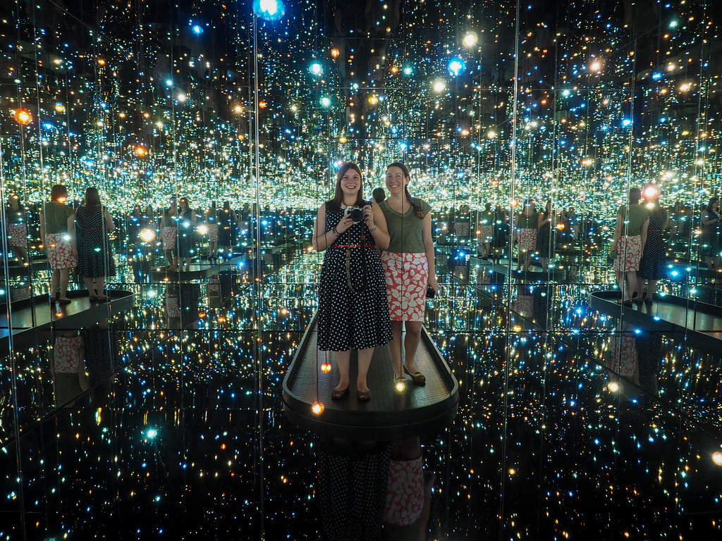 Infinity Mirrors at the Cleveland Museum of Art