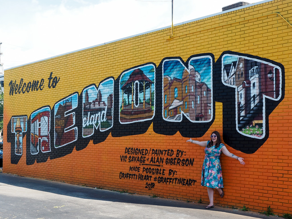 Tremont mural in Cleveland