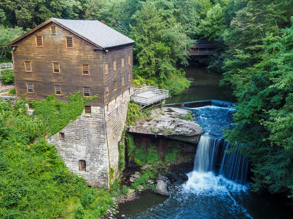 Lanterman's Mill in Mill Creek Park
