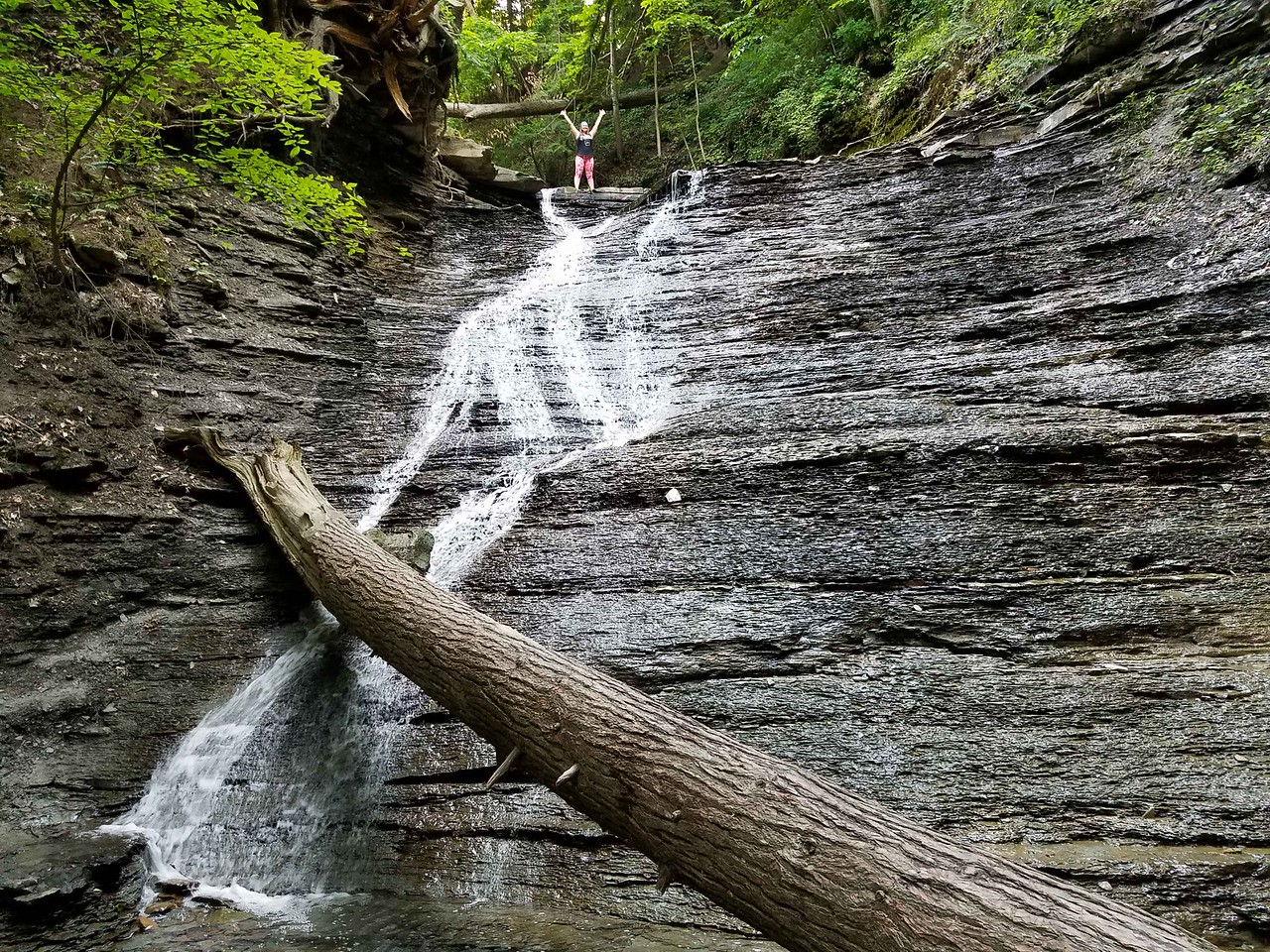Buttermilk Falls in Cuyahoga Valley National Park