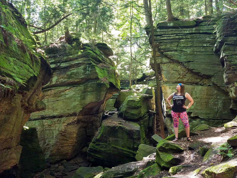 Virginia Kendall Ledges at Cuyahoga Valley National Park