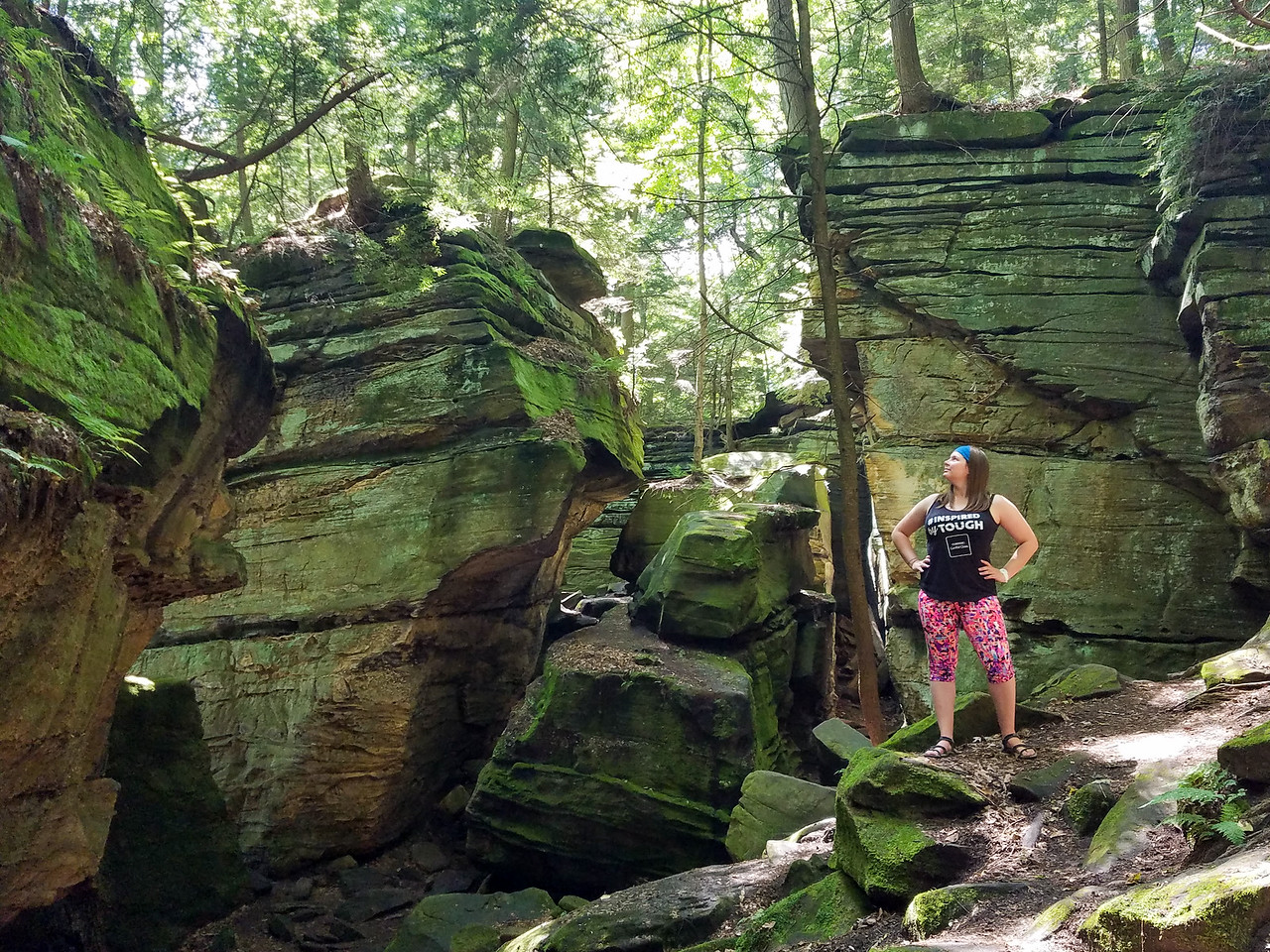 Virginia Kendall Ledges at Cuyahoga Valley National Park