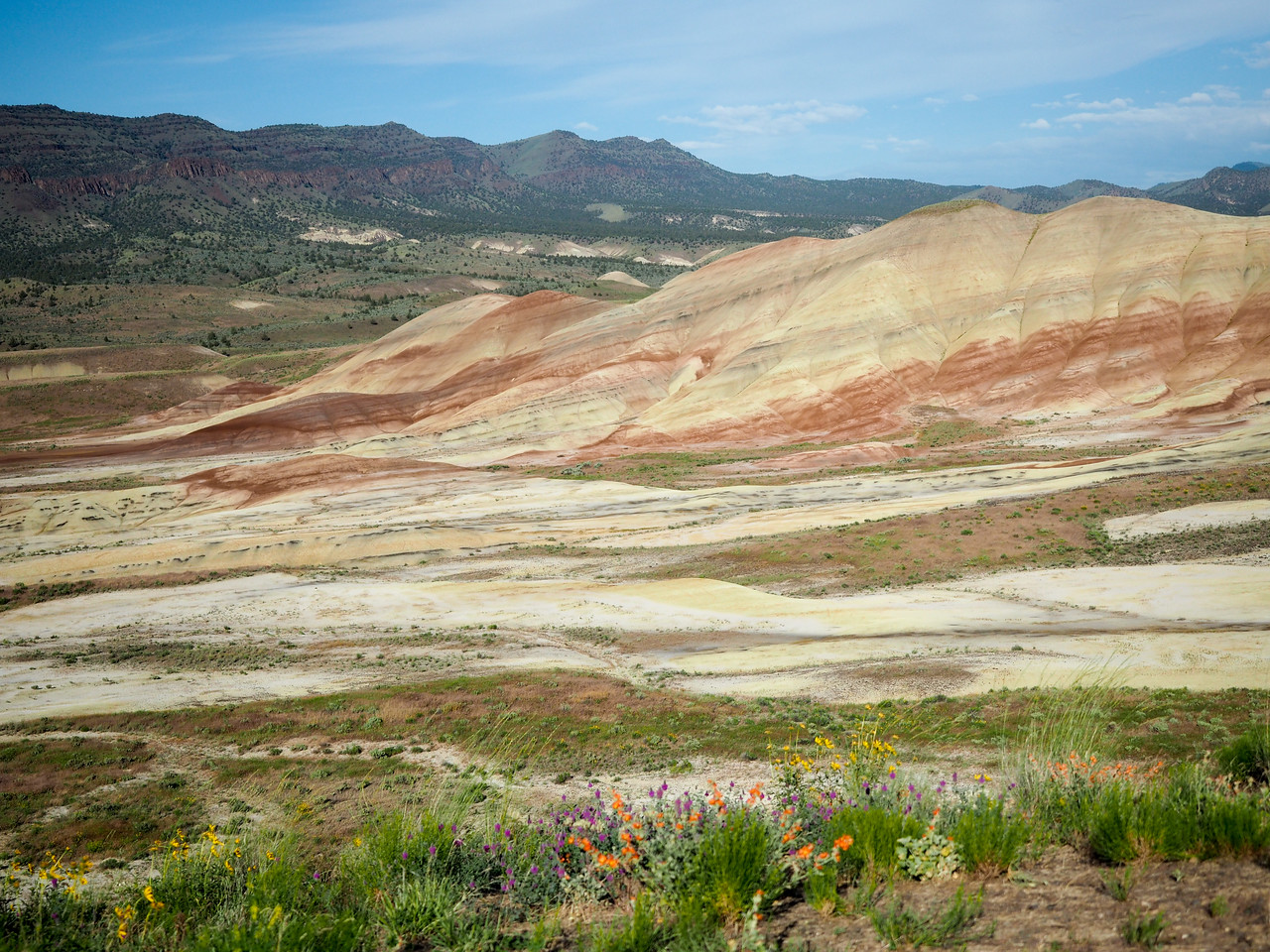 Painted Hills in Oregon