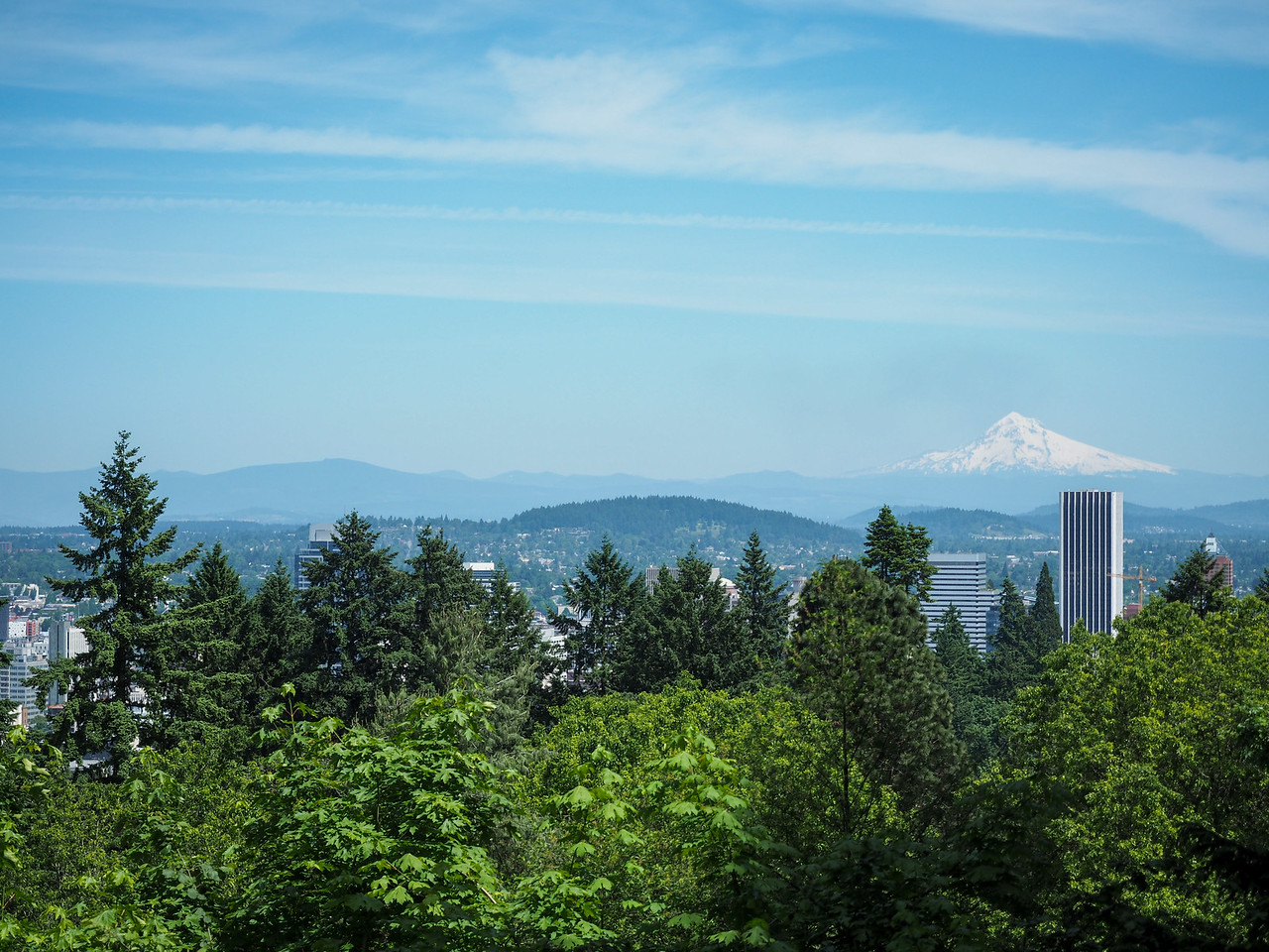 Mt. Hood from Portland