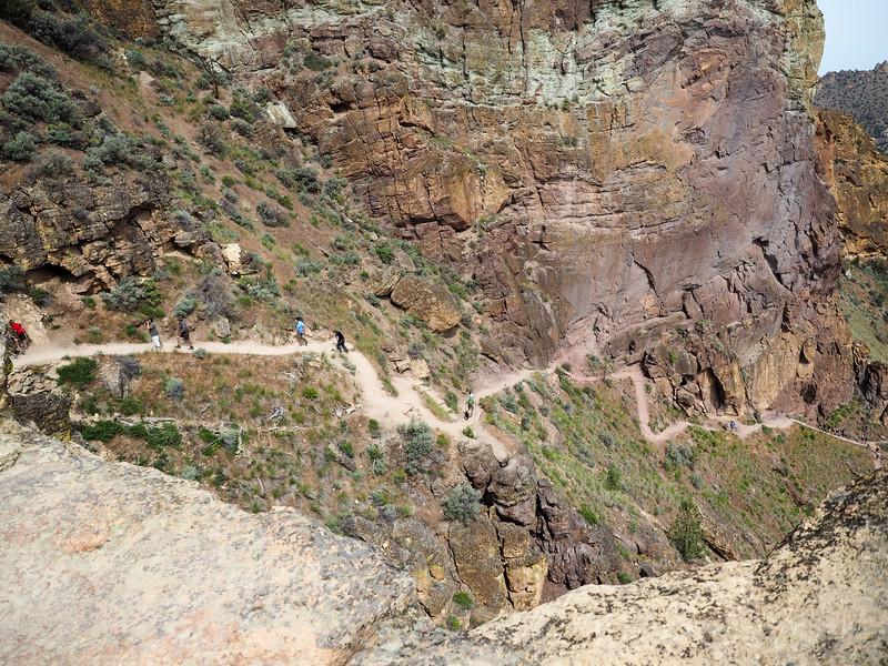 Misery Ridge Trail at Smith Rock