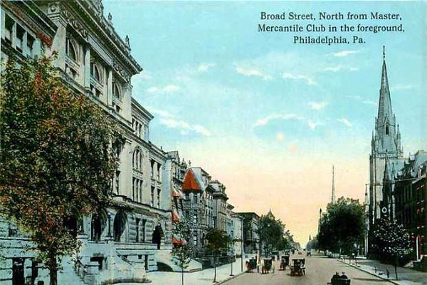 Broad Street North from Master Street