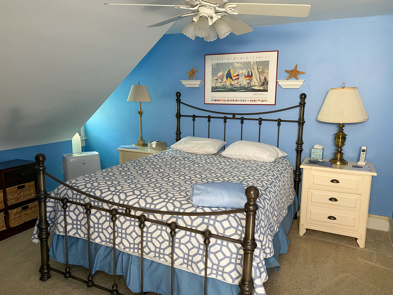 Lake house room