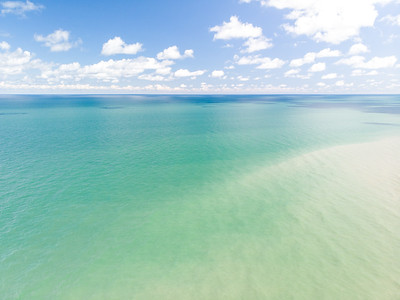 Lake Erie by drone