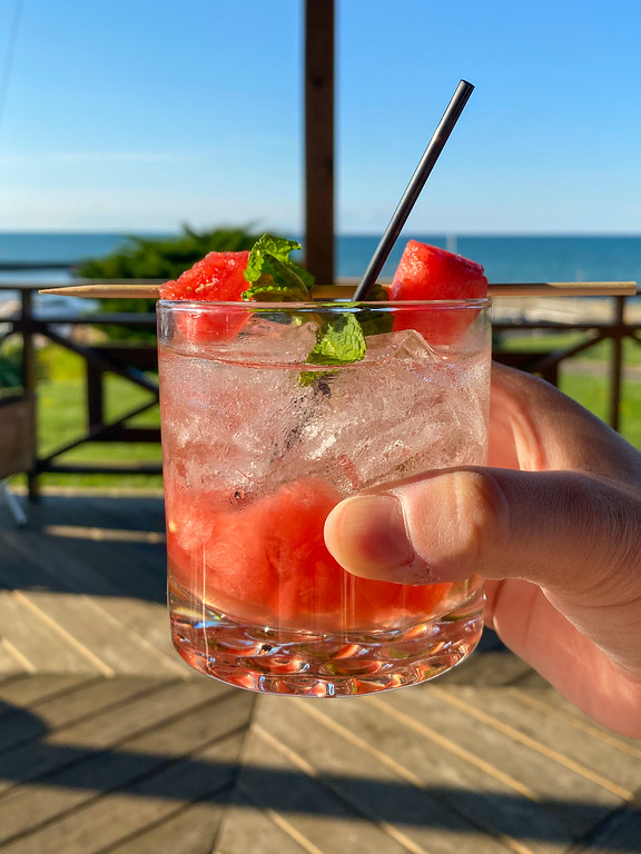 Watermelon cocktail at Noosa