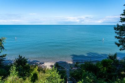 Calm Lake Erie morning